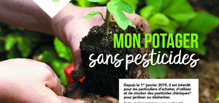 affiche mon potager sans pesticides