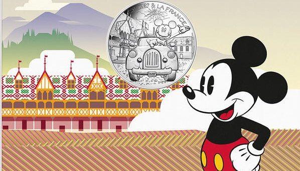 Monnaie de Paris Mickey
