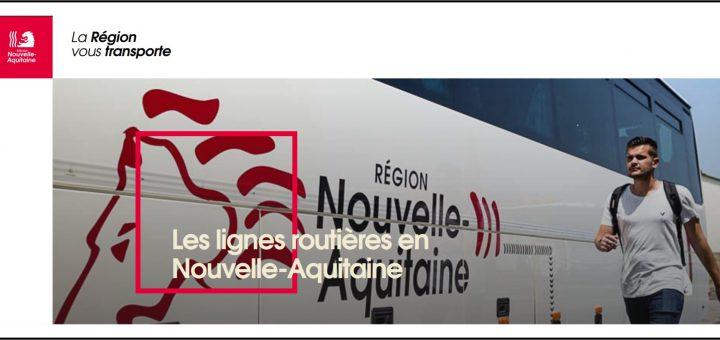 Lignes Routières Nouvelle Aquitaine