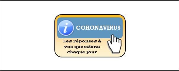Bandeau informations coronavirus