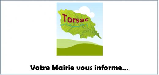 Mairie Torsac Informations
