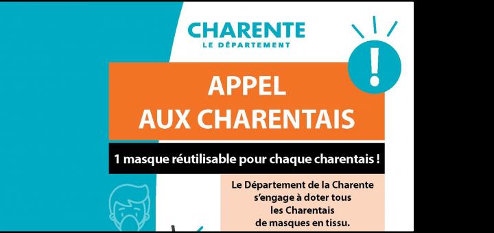 Département Charente - Masques