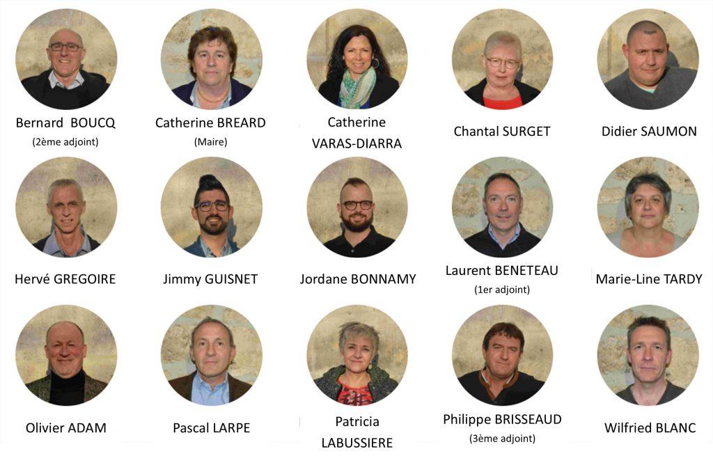 Membres du conseil municipal 2020 -2026