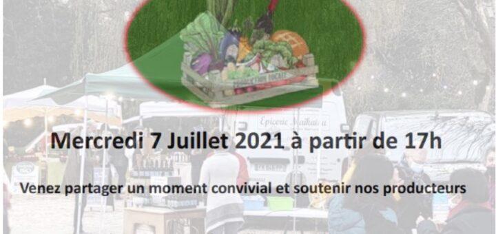 flyer marché saison estivale 2021